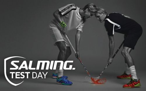 Salming TEST DAY